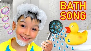 Bath Song for Kids from Sasha and Max