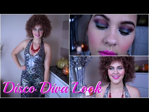 Halloween/Fancy Dress - 70's Disco Diva Look