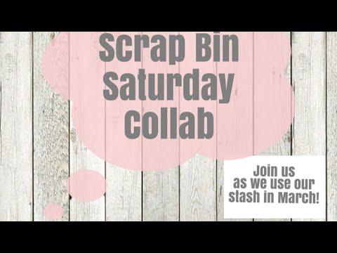 Scrap Bin Saturday ~Layered Embellishments