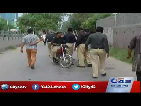 42 Breaking:  Lahore police vehicles to use default pattern of number plates now