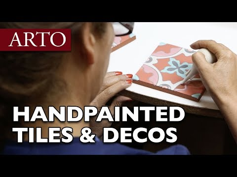 How Hand Painted Ceramic Tiles Are Made