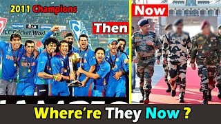 World Cup 2011 Winners Team India Players Where are they now