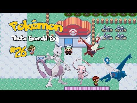 Pokémon Theta Emerald #26: Mew, Mewtwo e Latias