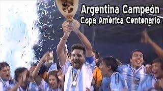 Argentina Campeón de la Copa América Centenario (Parodia)