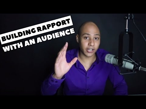 The trick to building rapport with an audience that the best speakers use - Speaking Lifestyle