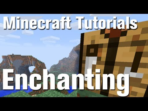 Minecraft Tutorial: How to enchant bows in Minecraft