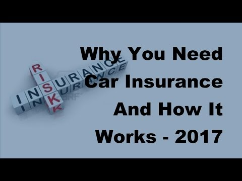 Why You Need Car Insurance And How It Works  - 2017 Car Insurance Tips