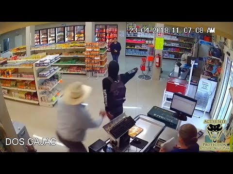 Robber Overwhelmed by Prepared Defender | Active Self Protection