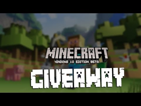 Minecraft Windows 10 Edition GIVEAWAY (CLOSED)