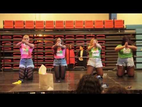 Alpha Kappa Alpha (Delaware State University) @ Sigma Gamma Rho Stroll Competition
