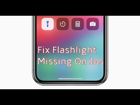 Flashlight Missing from Control Center in iOS 11 on iPhone How to Get It Back