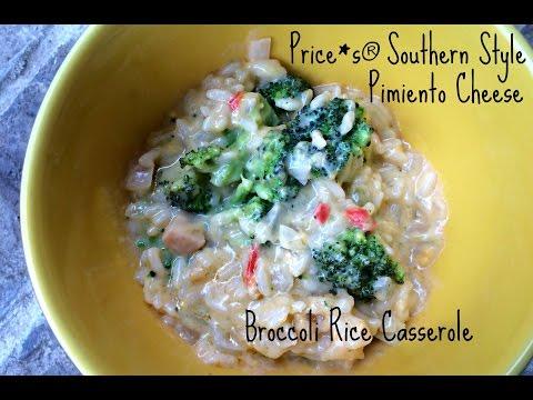 Southern Style Broccoli Rice Casserole