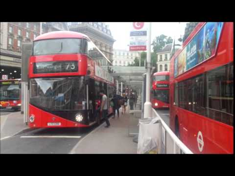 London Buses at Victoria - June 17th 2015