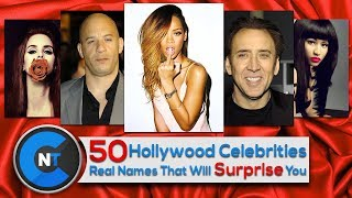 50 Hollywood Celebrities Real Names That Will Surprise You | Celebrities Real Names And Profession
