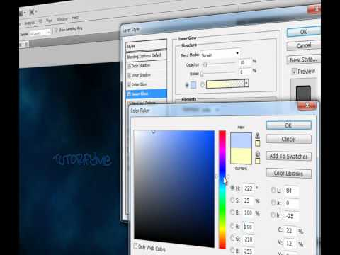 How to Create a Really Cool Desktop Background in PhotoShop CS5 [HD-1080p]