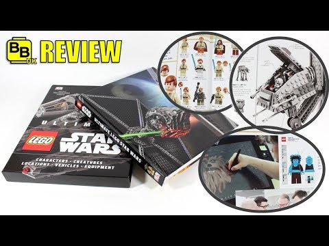 ULTIMATE LEGO STAR WARS DK BOOK REVIEW EXCLUSIVE PRINTS!