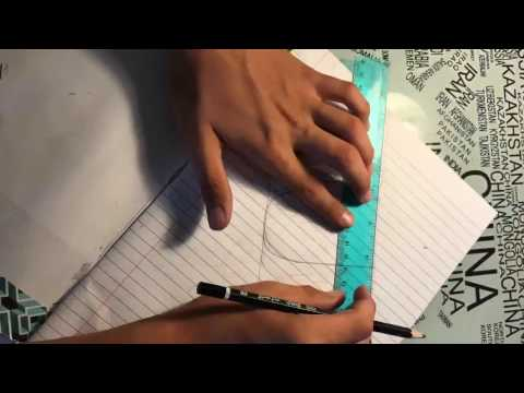 How to sketch an awesome title page time lapse