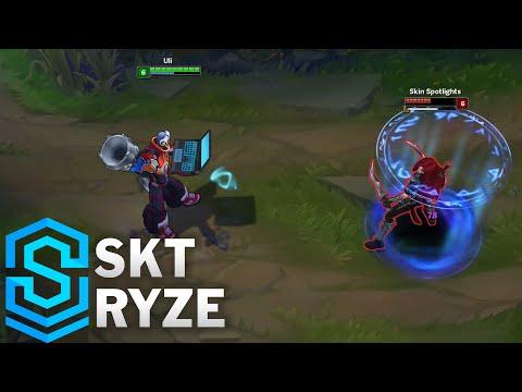 SKT Ryze Skin Spotlight - Pre-Release - League of Legends