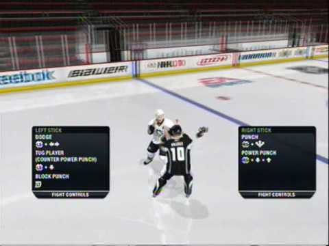 NHL 10 - Tutorial (with New Boardplay Gameplay and Fighting System)