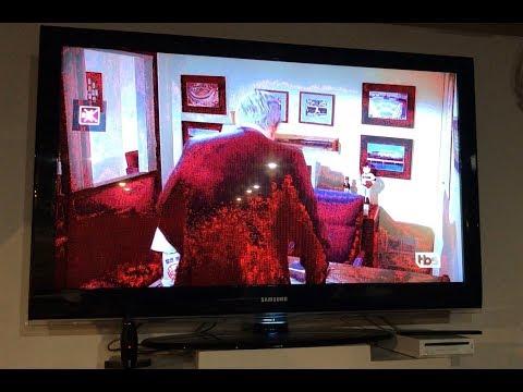 Samsung Red Screen TV repair  Bad T CON board LCD DIY