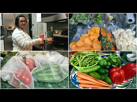 Vlog : Weekly Grocery Shopping & Keeping Veggies In Fridge| Simple Living Wise Thinking
