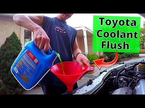 How To Flush Radiator & Cars Cooling System -Jonny DIY