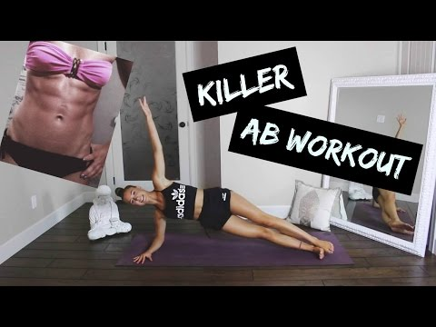 AB WORKOUT│HOW TO GET A FLAT STOMACH