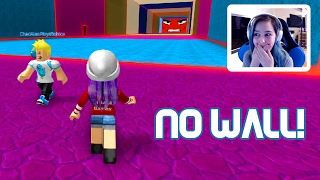 ROBLOX BE CRUSHED BY A SPEEDING EVIL WALL | RADIOJH GAMES & GAMER CHAD