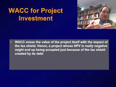(8) WACC AND PROJECT VALUATION