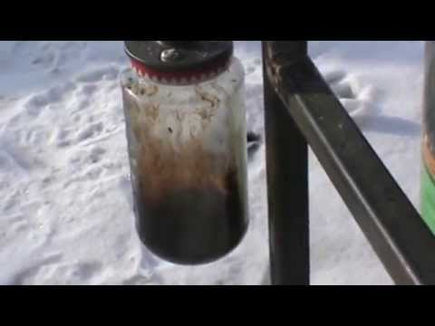Wood Gasifier Water and Tar Separation Video 7