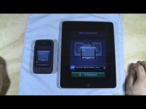 iPhone to iPad  Bluetooth Photo Sharing