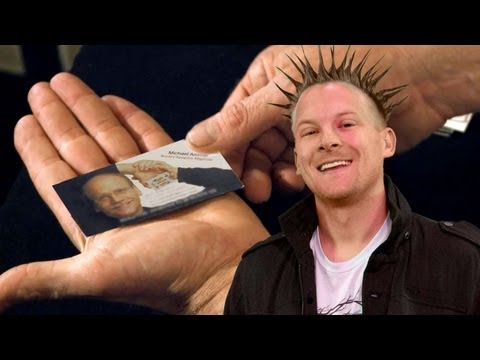 Make a BIG Impression With These Four EASY Business Card Tricks
