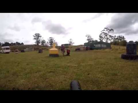 Lord of The Lettuce vs Ando Redbanks Paintball Tasmania