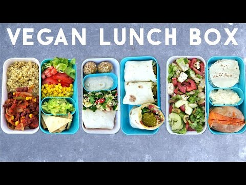 3 VEGAN & HEALTHY LUNCH BOX IDEAS (BENTO) ♡