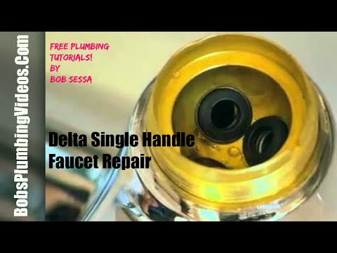 Delta Faucet Repair One Handle / Repair One Handle Faucet