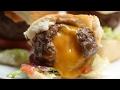 Cheese-Stuffed Burger Bombs
