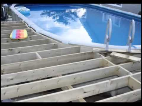 Deck and Pool project 2010