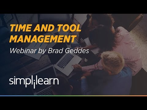 Time & Tool Management For PPCers | PPC Tools | Brad Geddes | Simplilearn Webinar