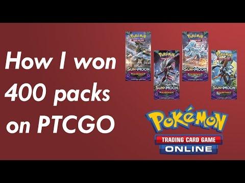 How I Won 400 Booster Packs in 2 Days on Pokemon TCG Online (PTCGO)