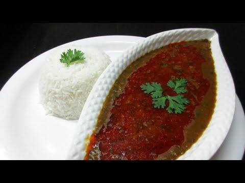 Masoor Dal Fry Recipe - Easy & Quick Masoor Dal Recipe in Hindi - How to make Masoor Dal - Kali Dal