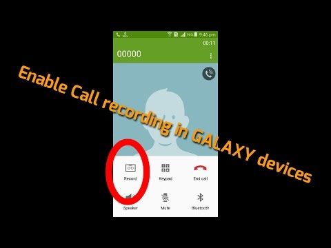 How to enable Call Recording feature in Samsung Galaxy