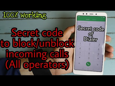 How to block all incoming calls without any app | Secret code to block incoming calls | call barring