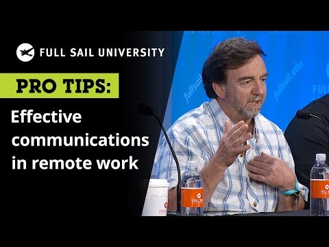 How to Communicate Effectively While Working Remotely  | Full Sail University