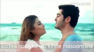 Sochta Hoon Ke Wo Kitne Masoom The   New whatsapp status video   Latest Song 2018