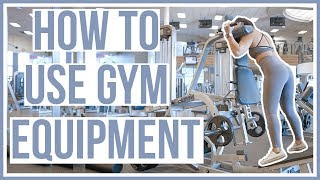 HOW TO USE GYM EQUIPMENT   Lower Body Machines