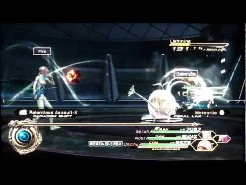 Final Fantasy XIII-2: Lightning & Amodar DLC run (No Feral Links)