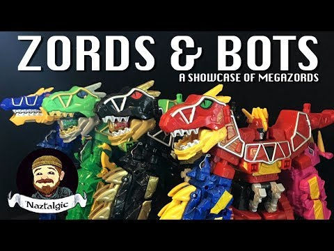 ZORDS & BOTS a showcase of Megazords from my collection