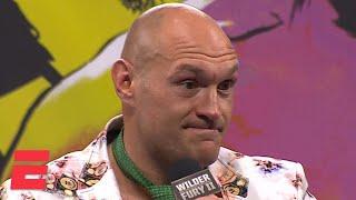 Tyson Fury breaks down TKO victory vs. Deontay Wilder in rematch   Boxing on ESPN