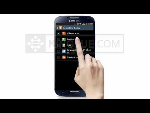 [Android] How to Import/Copy/Move/Transfer SIM Contacts to your Samsung GALAXY S5/S4/S3/Note 3 2 ?