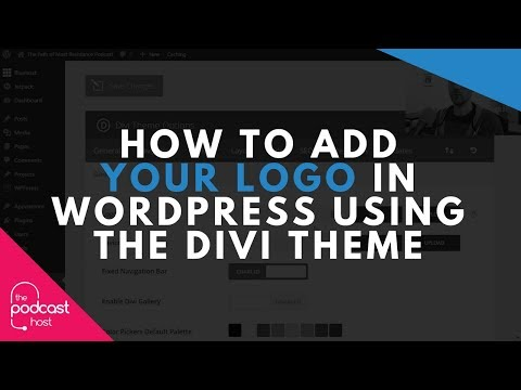 How to Add Your Logo in Wordpress Using the Divi Theme